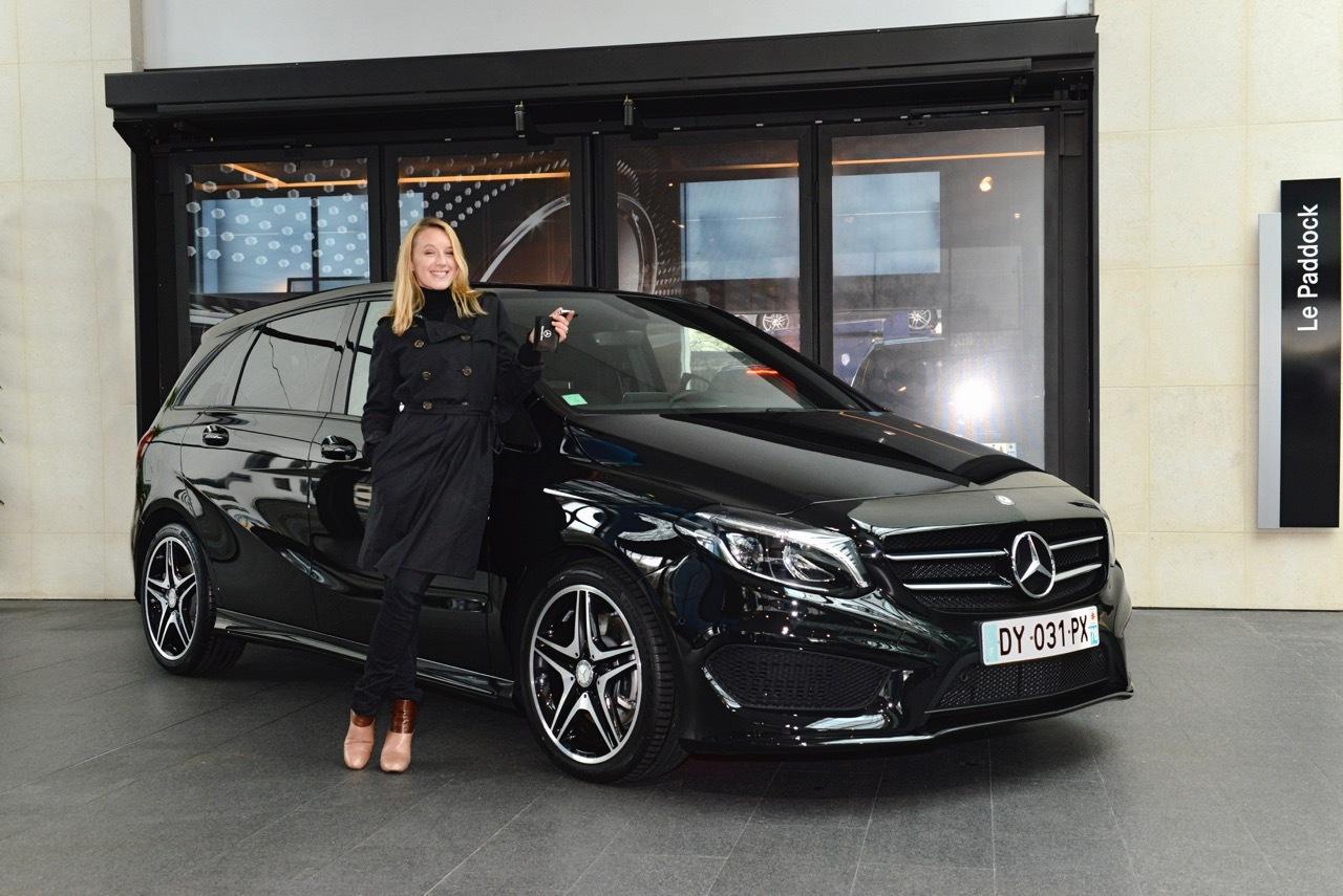 Placement de produit : Club ambassadeurs Mercedes avec Ludivine Sagnier
