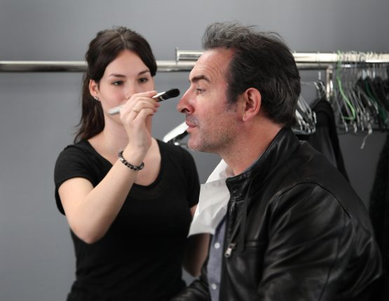 Placement de personnalités : Perce-Neige (make-up Jean Dujardin)