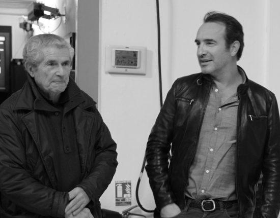 Placement de personnalités : Perce-Neige (Tous avec Lino). Claude Lelouch / Jean Dujardin