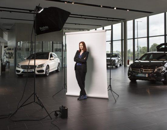 Placement de produit : Club ambassadeurs Mercedes avec Audrey Fleurot