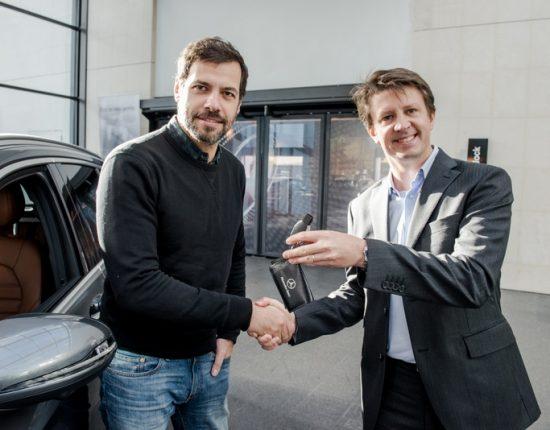 Placement de produit : Club ambassadeurs Mercedes avec Laurent Lafitte
