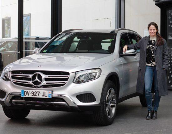Placement de produit : Club ambassadeurs Mercedes avec Marie Gillain