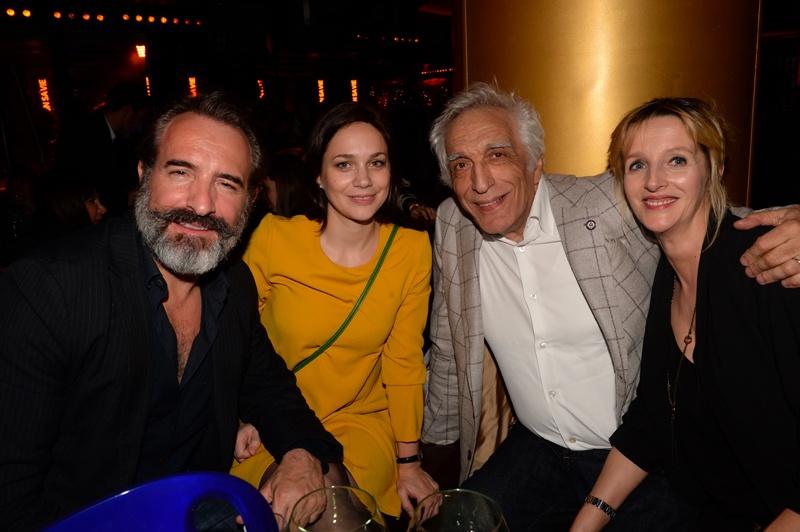 Jean Dujardin, Nathalie Pechalat, Gérard Darmon et sa femme Christine
