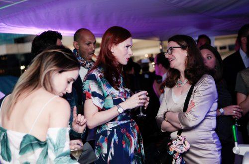 Audrey Fleurot : Ambiance Festival de Cannes – Yacht le Sud
