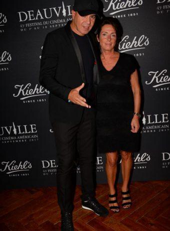 Festival du film Américain de Deauville : Nathalie Debras (Directrice communication L'Oreal-Luxe) & Cut Killer au Kiehl's Club