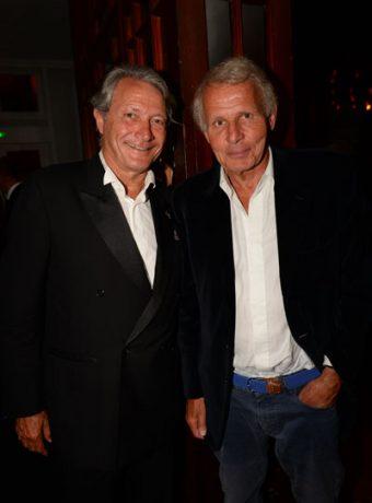 Festival du film Américain de Deauville : PPDA & Philippe Augier (Maire de Deauville)