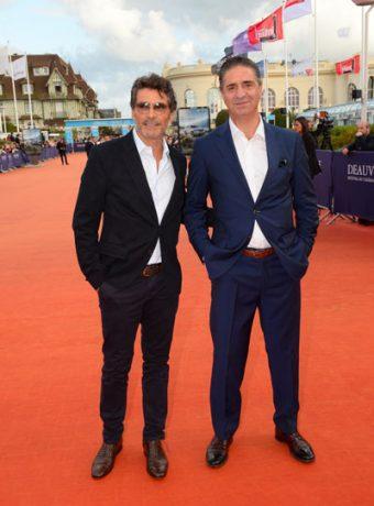 Festival du film Américain de Deauville : Pascal Elbé & Simon Abakarian