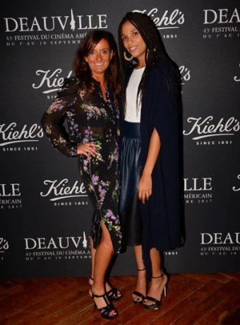 Festival du film Américain de Deauville : Stefi Celma & Kerdranvat (Dg Kiehl's France)