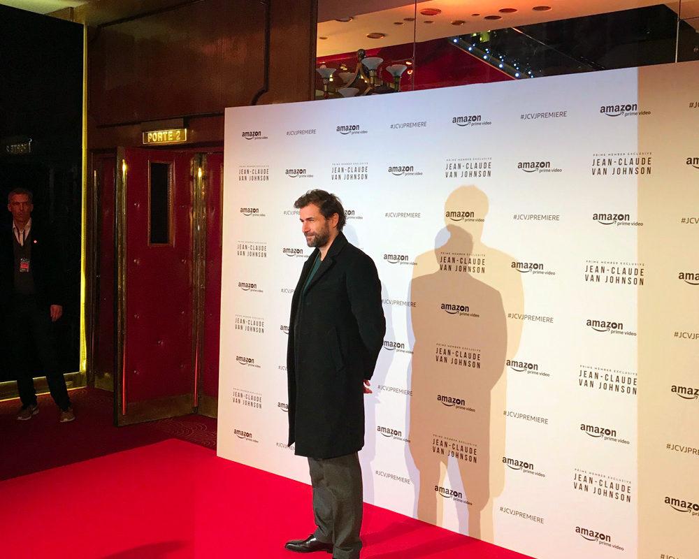 Soirée de lancement de la série Jean-Claude Van Johnson avec Grégory Fitoussi