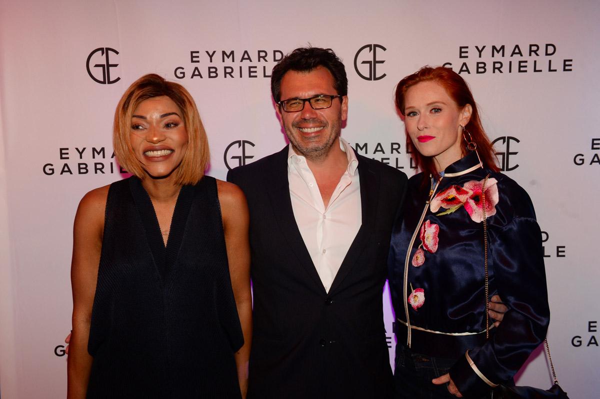 Soirée de lancement de la nouvelle marque de cosmétique Gabrielle Eymard avec Eric Ritter et Audrey FLeurot