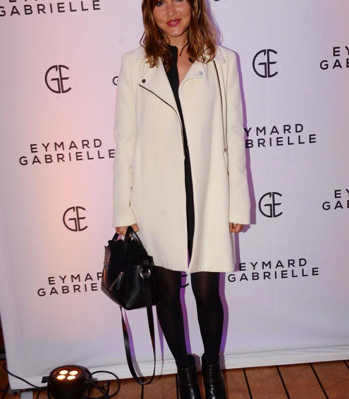 Soirée de lancement de la nouvelle marque de cosmétique Gabrielle Eymard avec Joyce Jonathan
