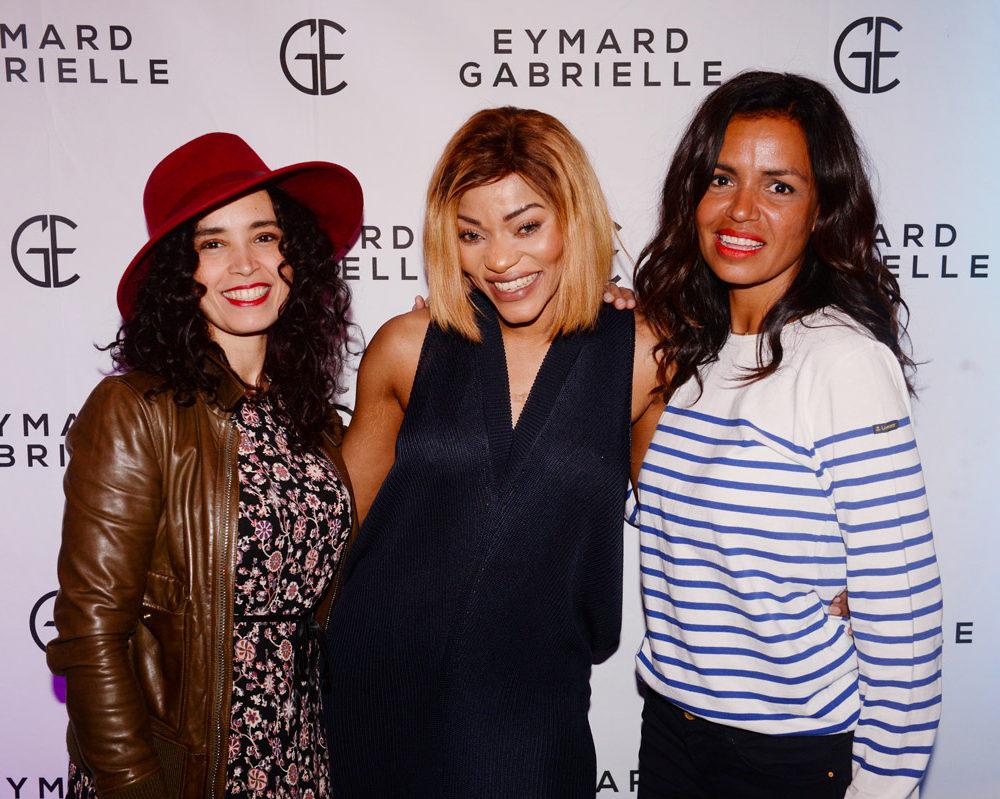 Soirée de lancement de la nouvelle marque de cosmétique Gabrielle Eymard avec Aida touhiri, la fondatrice Gabrielle Eymard et Laurence...